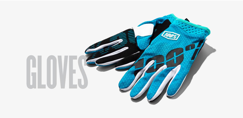 100% Gloves