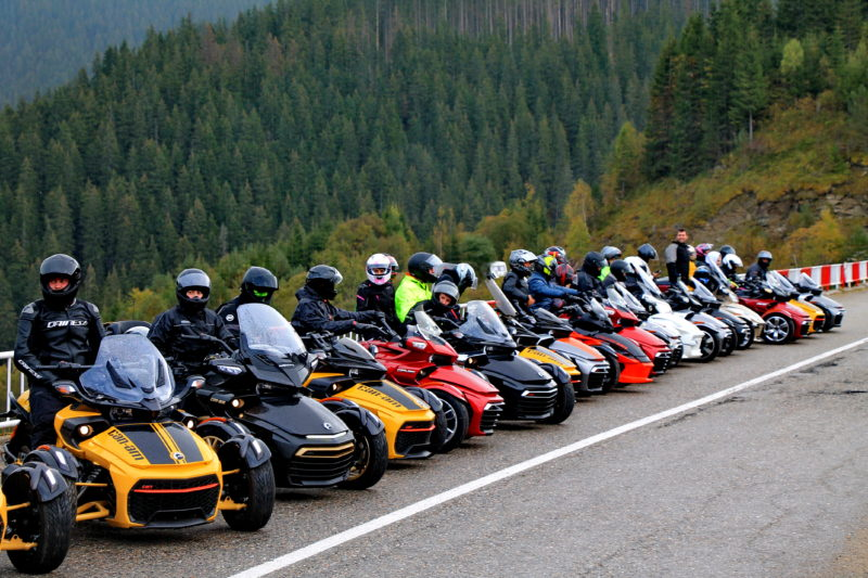 Spyder Meeting @ Transfagaras&Transalpina